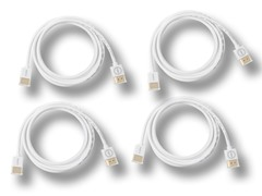 Gatorwire 6' HDMI Cable with 3D & Ethernet - 4pk