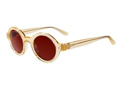 Retro-Focus Sunglasses, Crystal