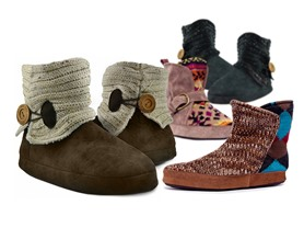 Muk Luks Women's Short Slipper Boots