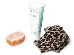 Justin Blair Leopard Style Foot Care Set