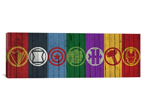 avengers symbols