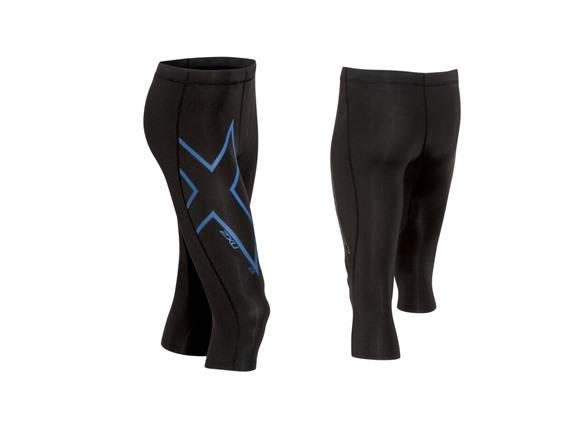 2XU Men's 3/4 Compression Shorts WT142048A