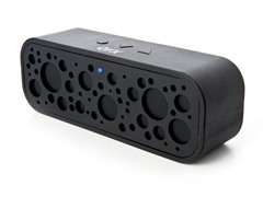 Portable Bluetooth Speaker with Mic- Black