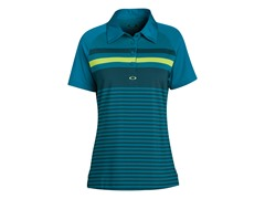 Cliff Short Sleeve Polo - Blue Crystal