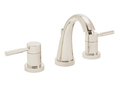 Neo Widespread Faucet, Polished Nickel