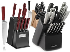 Cuisinart Knife Block Sets - 5 Styles