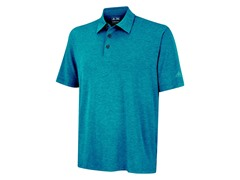 Heathered Polo, Marine (XL)