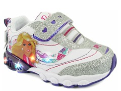 Barbie Light-Up Sneaker (7-11 Tod)