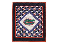 Florida Quilted Throw B