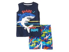 KHQ Shark Short Set (12-18M)