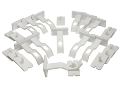 Adhesive Double Locks - 12 Pack