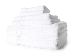 Egyptian Cotton 6pc Towel Set - White
