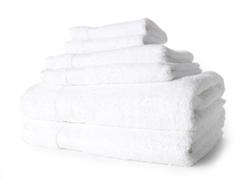 Egyptian Cotton 6pc Towel Set - White