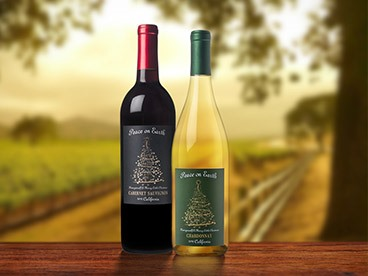 Peace on Earth Holiday Wines