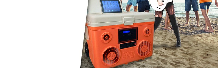 KoolMAX Bluetooth Speaker Coolers