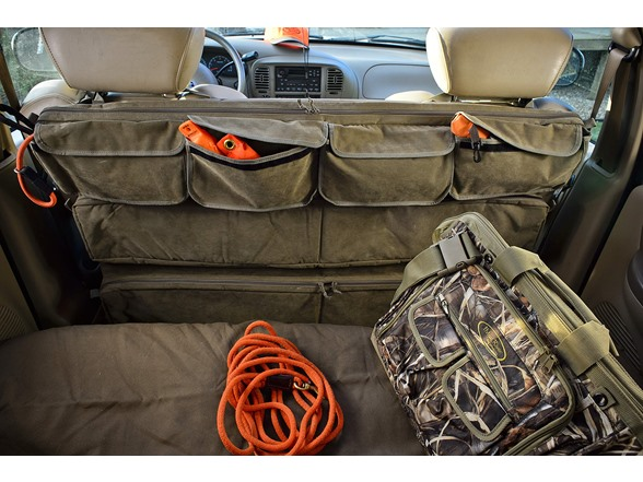 Truck Seat Organizer >> Hunting Fishing Mud River Truck Seat Organizer Hunting Dog