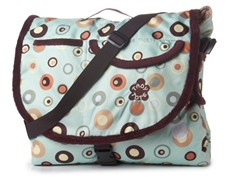 "66"" x 53"" Travel Blanket - Bubbles"