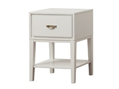 Rectangle Accent Table - White