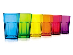 Color Glass 12oz - Set of 6