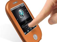 "8GB 3"" Touch MP3 Video Player - Orange"