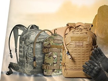 CamelBak and Maxpedition Tactical Bags