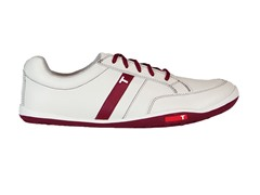 TRUE Linkswear Men's Golf Shoe, Burgundy