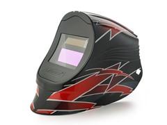 Viper Red Lightning with 1000F Filter Welding Helmet