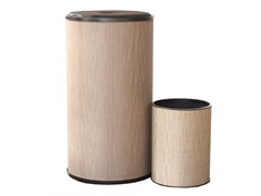 2-Piece Round Hamper and Wastebasket