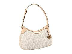 Jet Set Medium Shoulder Bag, Vanilla