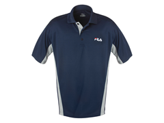 FILA Polo Shirt Navy/Gray