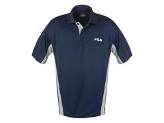 FILA Polo Shirt Navy/Gray (S)