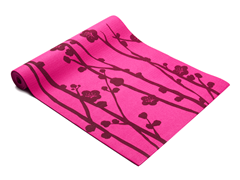 Purple Cherry Blossom Yoga Mat