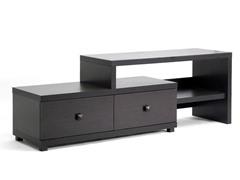 Baxton Blythe Asymmetrical TV Stand