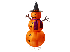 Lighted Pumpkin Lantern 42-Inch