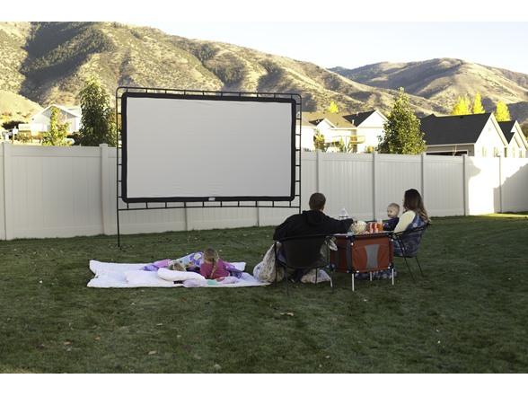 camp chef portable outdoor movie screens