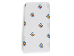 Blue Angry Bird Swaddling Blanket