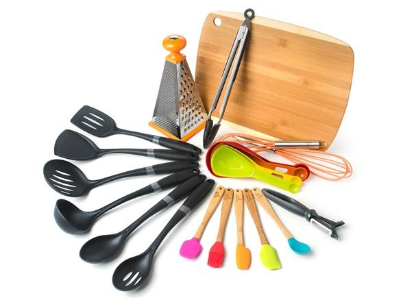 Core Home Kitchen Accessories 21-Pc. Set