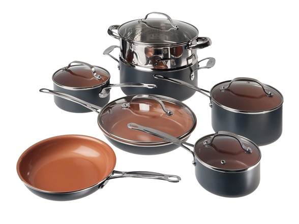 Gotham Steel 1471 12-piece Non-Stick Cookware Set