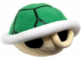 Super Mario Wii Koopa Shell Plush w/Sound