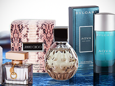 Bvlgari, Gucci & Jimmy Choo Fragrance