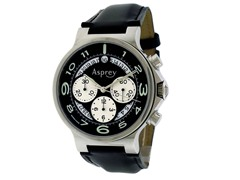 No 8 Round Chronograph Calendar Watch