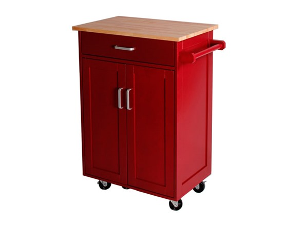 TMS Kitchen Cart - Red