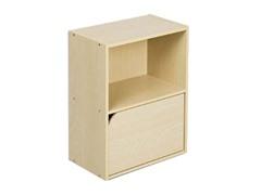 Pasir 2 Tier Bookcase w/o Handles Beech