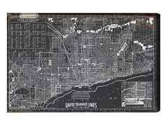 Chicago Rapid Transit 1926 (4 Sizes)