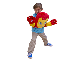 SuperHero Pillow Puppets - Iron Man