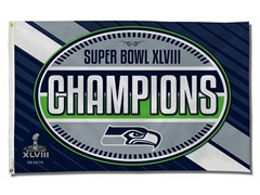 Super Bowl Champions Banner Flag