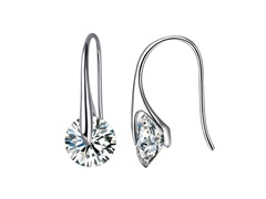 Mestige Eclipse Crystal Earrings