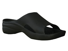 Women's Premium Slide, Black / Black