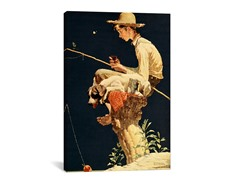 Boy Fishing (2-Sizes)