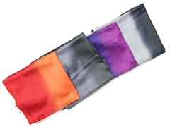 4-Pack Satin Ombre Wraps